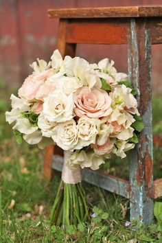 24 Glamorous Blush Wedding Bouquets That Inspire ❤ See more: http://www.weddingforward.com/blush-wedding-bouquets/ #weddings #bouquets