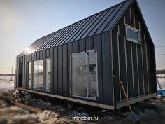 Строим Минидом МС61.1 в КП «Деревня» | minidom.ru