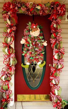 Deco Mesh Garland, Wreaths, Fall, Home Decor, Autumn, Decoration Home, Door Wreaths, Fall Season, Room Decor