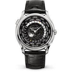 Patek Philippe World Time Moon Ref 5575 White Gold 5575G-001