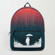 Meteoric rainfall Backpack by budikwan Cute Mini Backpacks, Cool Backpacks, Forever21, Popular Backpacks, Back To School Backpacks, Kawaii Jewelry, D Craft, Designer Backpacks, Printed Bags