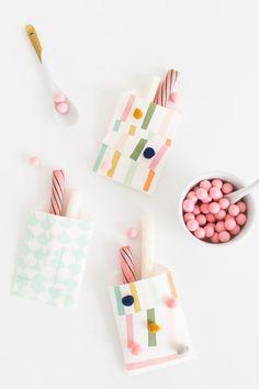 DIY: Patchwork Favor Bags