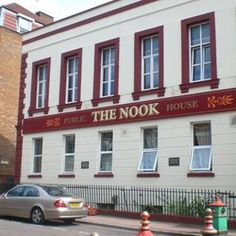 The Nook Pub, Chinatown, Liverpool, England. The Nook Public House, in Nelson Street, is Britain's only Chinese pub and was a favourite from the 1940s with the Chinese seafaring community.  The Nook stands in the centre of Liverpool's Chinatown - Europe's oldest Chinese community.