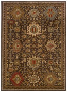 Mediterranean Borders Rug | Sturbridge Yankee Workshop
