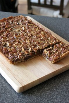 Chocolate Pecan Pie Squares