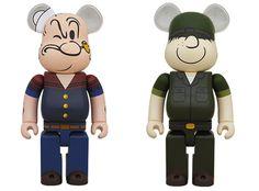 Army vs. Navy  Beetle Bailey + Popeye