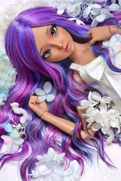 (4arllin) Tags: bjd minifee mnf celine doll alpaca wig fairyland moe tan