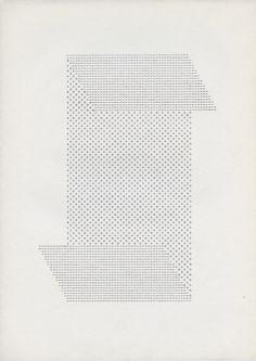 Ruth Wolf-Rehfeldt — Faltungen, late 1970s