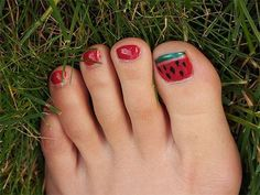 Simple Summer Inspired Toe Nail Art Designs, Ideas, Trends & Stickers 2014 could be ...  #designs #ideas #inspired #simple #stickers #summer #trends Toe Nail Art, Toe Nails, Pink Nails, Winter Nails, Summer Nails, Cotton Candy Nails, Opi Colors, Heart Nails, Beautiful Nail Art