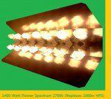 1400 watt Flowering Spectrum CFL Grow Light Unit