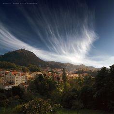 Vista geral da Vila de Sintra