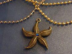 Starfish Pendants Bronze Starfish Charm Pendants by DaKsJewelry