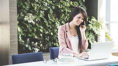 女性, 作業, ビジネス女性, 実業家, ラップトップ, コンピュータ, Professional, 携帯電話