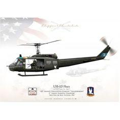 """UH-1D """"Huey"""" 'Tinker Toy' 118 AHC LC-32B"""