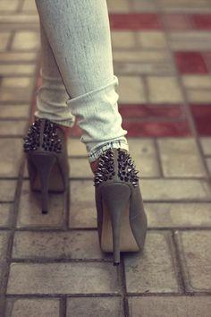 studded heel love.