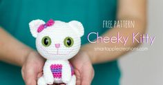 Here comes my new free amigurumi pattern for a wide-eyed and playful little kitten. I created the Cheeky Kitty pattern for a recen...