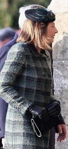 Carole Middleton and family were allowed to attend the Christmas service at Sandringham but were NOT asked to the luncheon. So, Kate had her family to her orange-roofed house for lunch and didn't appear at the Queen's lunch. Would love to know what QEII really thinks of these people. Including Kate, who appears to wear the pants in her marriage….