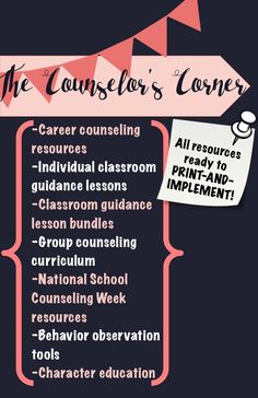 So many awesome school counseling resources!