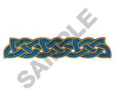 CELTIC BORDER embroidery design Border Embroidery Designs, Machine Embroidery Designs, Medieval Art, Medieval Fantasy, Celtic Border, Celtic Images, Borders And Frames, Celtic Knot, Design Elements