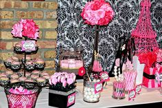 Enrika's Sweet and Chic Soiree | CatchMyParty.com