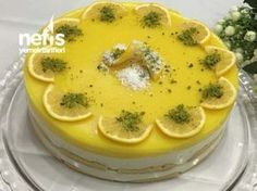 Limonlu Kedidilli Hafif Pasta