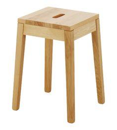 TATO Hocker Holzfarben Holz