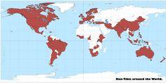 Sixty countries now have Kon-Tiki kilns! Countries, Diagram, Map, Location Map, Maps