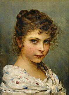 Little Italian Girl (Eugene de Blaas - )