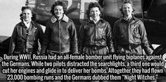 """the Russian """"Night Witches"""""""
