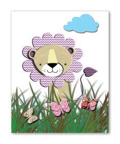Lion Nursery Art Kids Room Decor Children Wall Art by DigiRoom