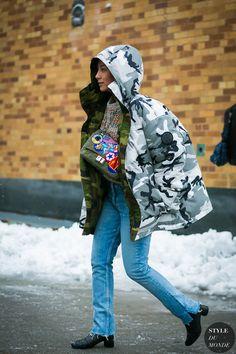Vetements jacket by STYLEDUMONDE Street Style Fashion Photography