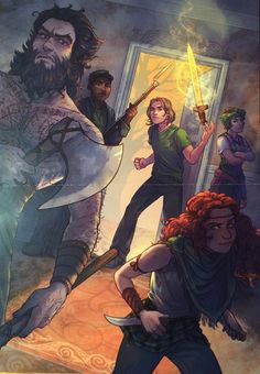 Magnus Chase 19th floor group. I love them!