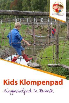 Kids Klompenpad Slagmaatpad in Bunnik, daar wandelen kinderen met plezier