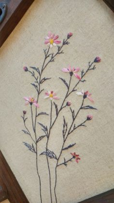 Basic Embroidery Stitches, Hand Embroidery Tutorial, Embroidery Flowers Pattern, Embroidery Bags, Japanese Embroidery, Embroidery Patches, Embroidery Techniques, Machine Embroidery, Bordado Floral