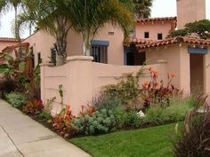 spanish home exteriors | Exteriors and Landscape