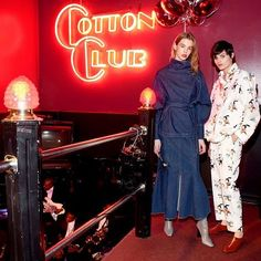 Only Stella: @stellamccartney presented her Pre-Fall collection with an incredible night at the #CottonClub in Harlem, including a surprise performance by @aliciakeys. [photo @lightboxer]