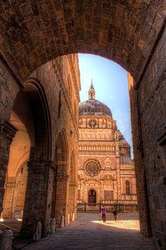 Basilica of Santa Maria Maggiore | Bergamo, Italy Travel Travelling Access Our Site Much More Information http://storelatina.com/travelling #reizgje #여행 #malaga #călătorie #haere #viaggio