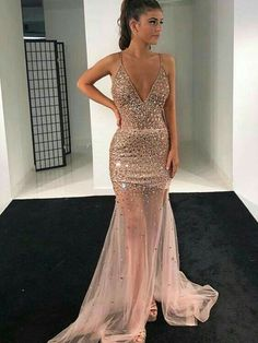 Tight Prom Dresses, Sparkly Prom Dresses, Mermaid Evening Dresses, Homecoming Dresses, Sexy Dresses, Evening Gowns, Beautiful Dresses, Girls Dresses, Formal Dresses