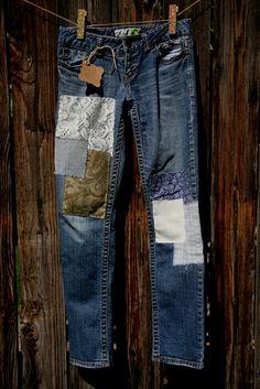 The Sadie jean womens size 1/2 short by RhapsodyReinventions