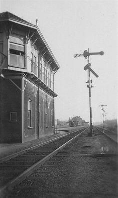Seinhuis post A Noordzijde station Boxtel tot begin 1964