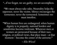 RIP Elie Wiesel