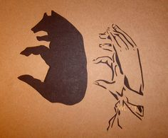 Shadow Puppet paper cut