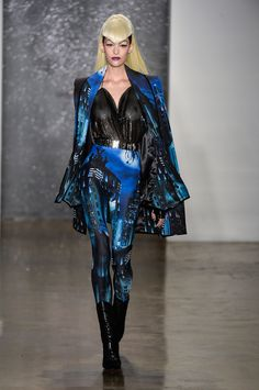The Blonds Fall 2014 #nyfw. Fashion and costume often cross paths!