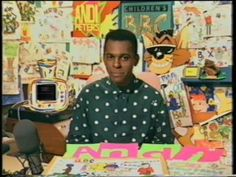 CBBC with Andi Peters. :)
