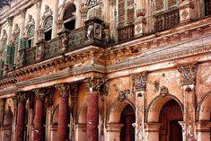 panam nagar - Google Search Pakistan Bangladesh, Bangladesh Travel, Tourist Places, Places To Travel, Places To Visit, India Architecture, A Level Art, Lisbon Portugal, Abandoned Mansions