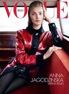 Anna Jagodzińska for Vogue Mexico