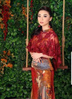 Modern Kebaya, Lace Skirt, Sequin Skirt, Batik Kebaya, Batik Fashion, Muslim, Wedding Ceremony, Asian, Traditional