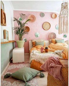 Room Ideas Bedroom, Home Decor Bedroom, Bedroom Inspo, Deco Studio, Appartement Design, Rustic Home Interiors, Aesthetic Room Decor, Dream Rooms, My New Room
