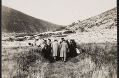 """One of eight unknown photographs of St Kilda that were discovered in the archives of the University of Glasgow, from the private collection of Thomas Stewart Patterson, who was a lecturer in Organic Chemistry at the university in 1904.  The """"holiday snaps"""" are from about the late 1920's. Via The Scotsman Mon 6th Oct 2014 Trips to the islands at the time were advertised as a chance to """"Come and See Britain's Modern Primitives""""."""