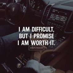 I am difficult, but I promise I am worth it. Like and comment if you feel this! ➡️ Now Playing Musik for more! #nowplayingmusik